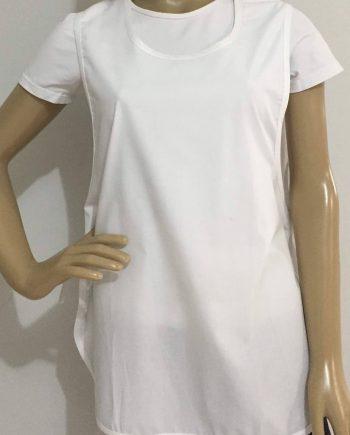 Avental Tecido Tricoline Branco